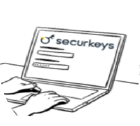 Se connecter à SecurKeys sur laptop